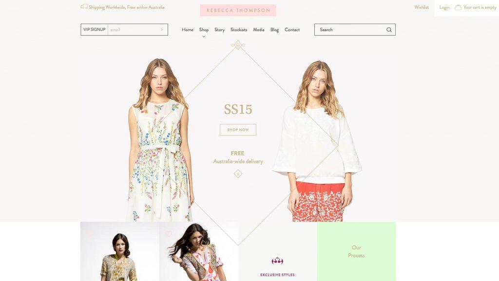 Rebecca Thompson – Australian Fashion Designer