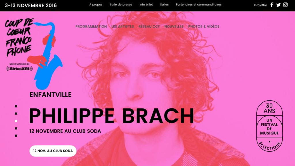 Coup de coeur francophone | festival de chansons