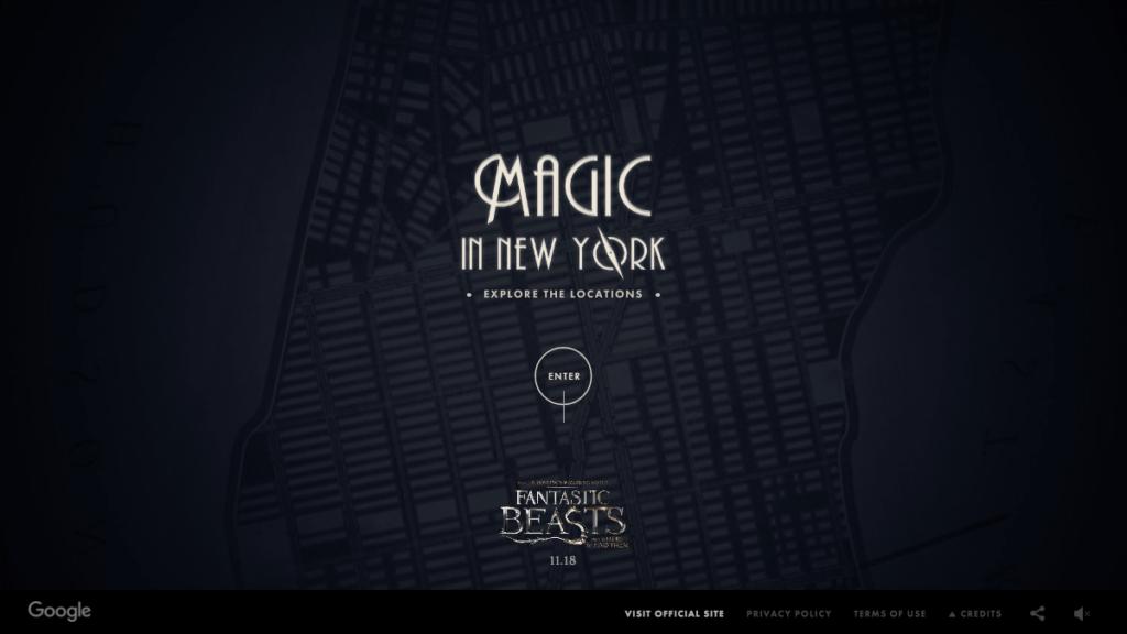 Fantastic Beasts – Magical Maps