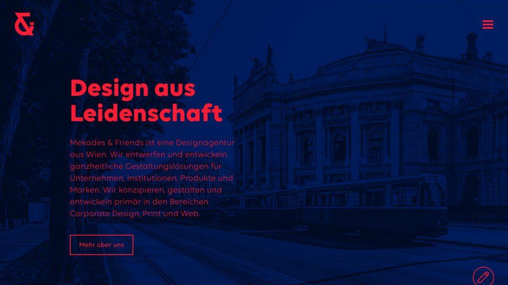 Designagentur – Grafikdesign & Webdesign – Mekades & Friends