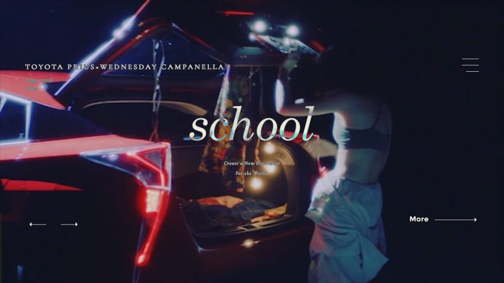 school|Visual&Interactive Production