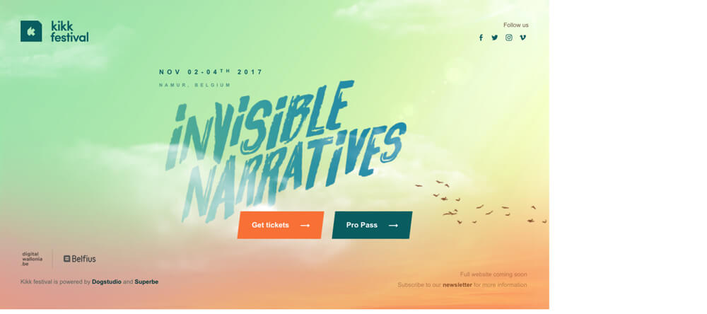 KIKK Festival – Invisible Naratives