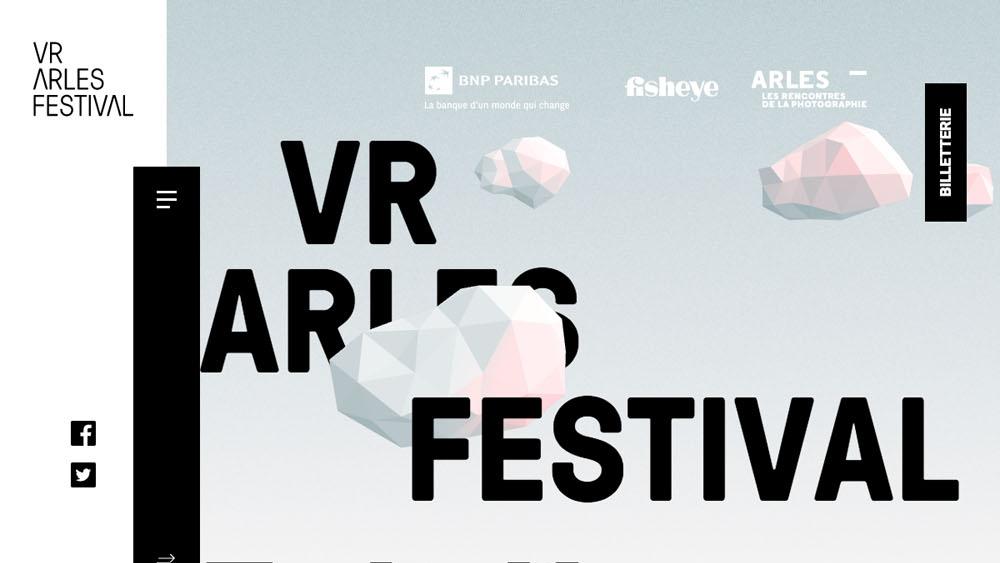 VR Arles Festival | Du 3 juillet au 31 aout 2017