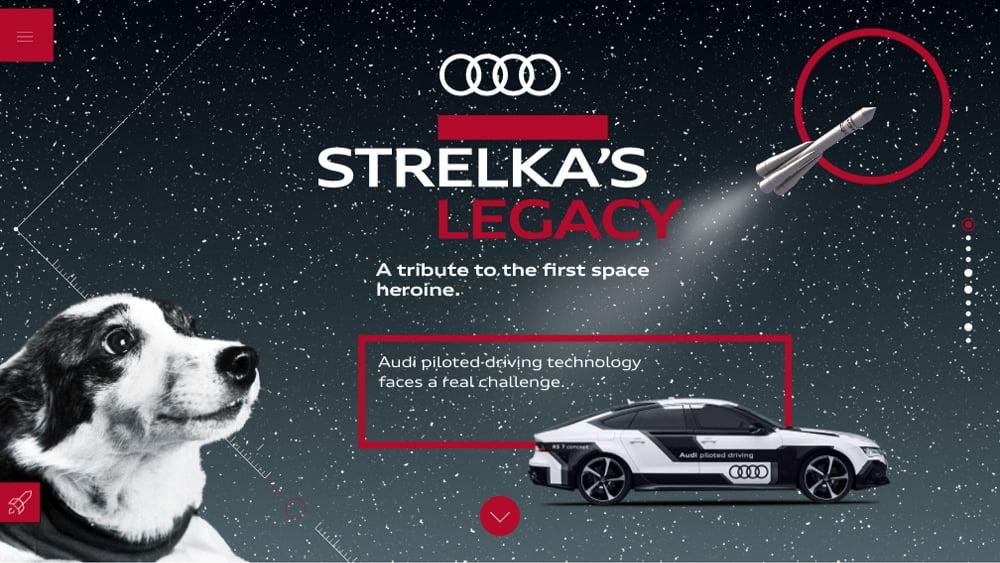 Audi – Strelka's Legacy