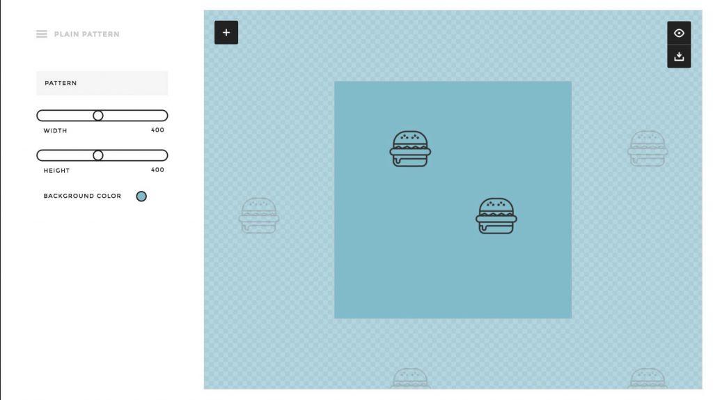 svg 画像から背景などに使えるパターン画像を生成するPlain Pattern -『design』