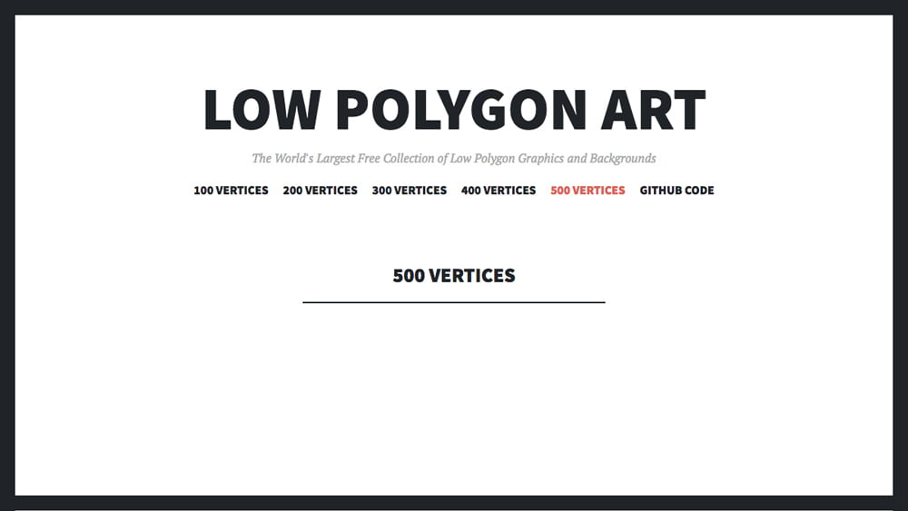 グラデーションポリゴン背景のギャラリー LOW POLYGON ART -『design』