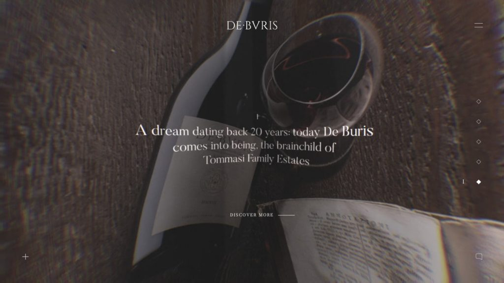 De Buris Amarone Riserva | Taste the time
