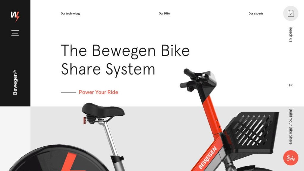 The Bewegen Bike Share System – Power Your Ride
