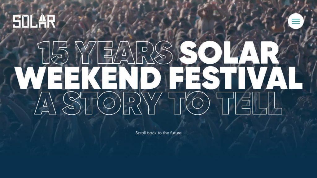 15 years — Solar Weekend