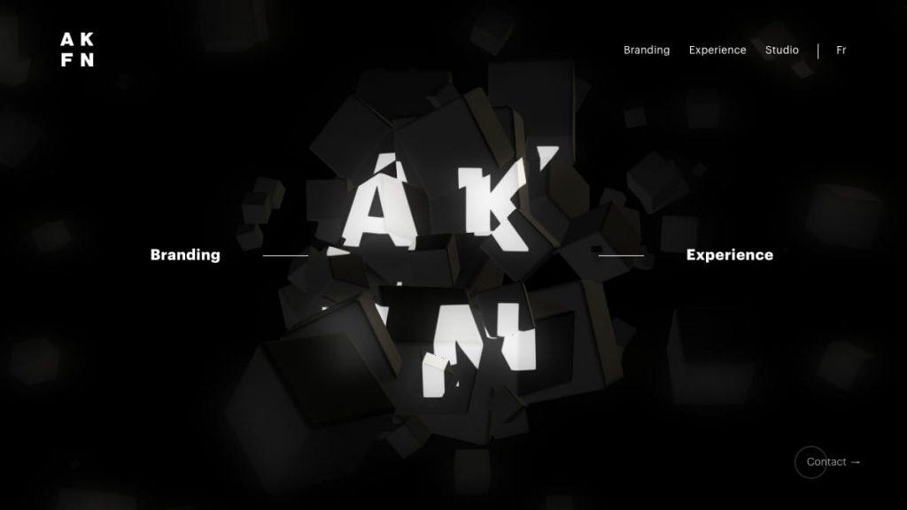 AKUFEN studio in Montreal – Strategy, branding, web & interactive
