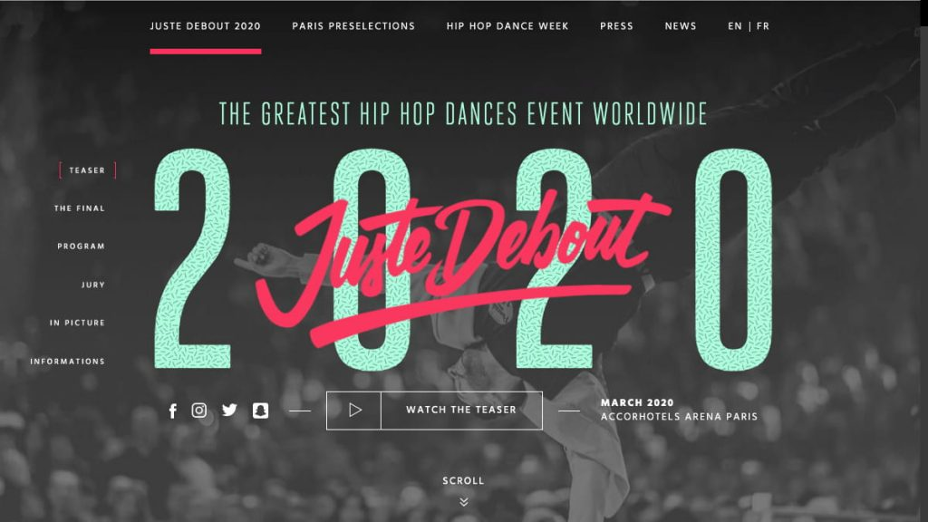 Juste Debout 2020 – The greatest hip hop dances event worldwide