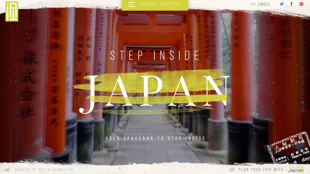 Awesome Interactive map of Japan