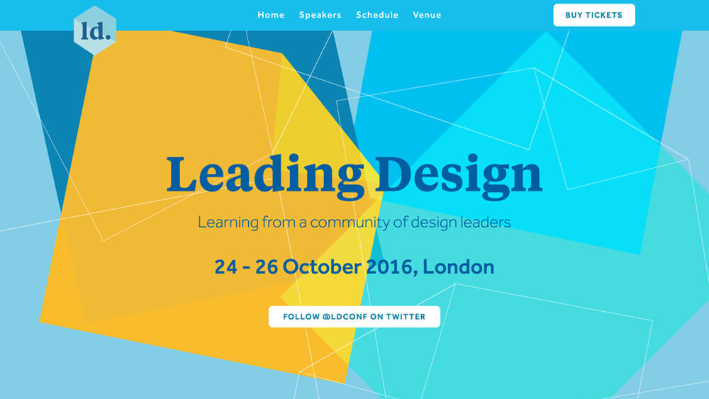 Leading Design Conference 2016