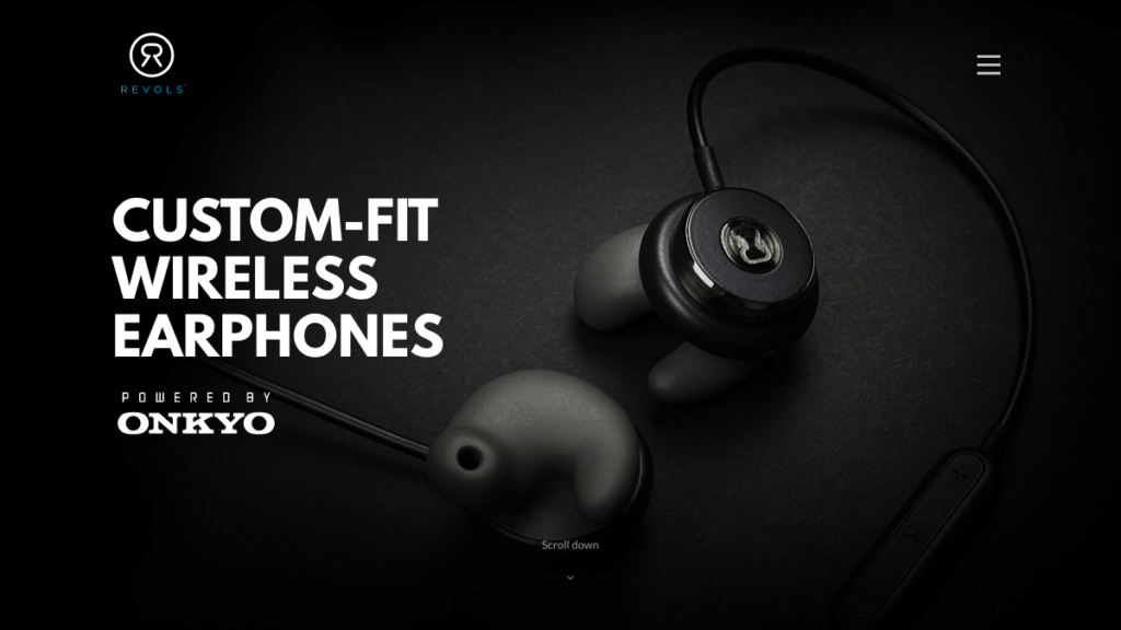 Revols Quick Custom-Fit Wireless Earphones