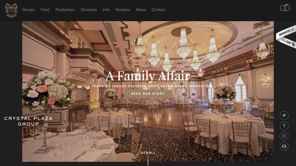 NJ and NY Event Producer and Caterer | Crystal PlazaCrystal Plaza