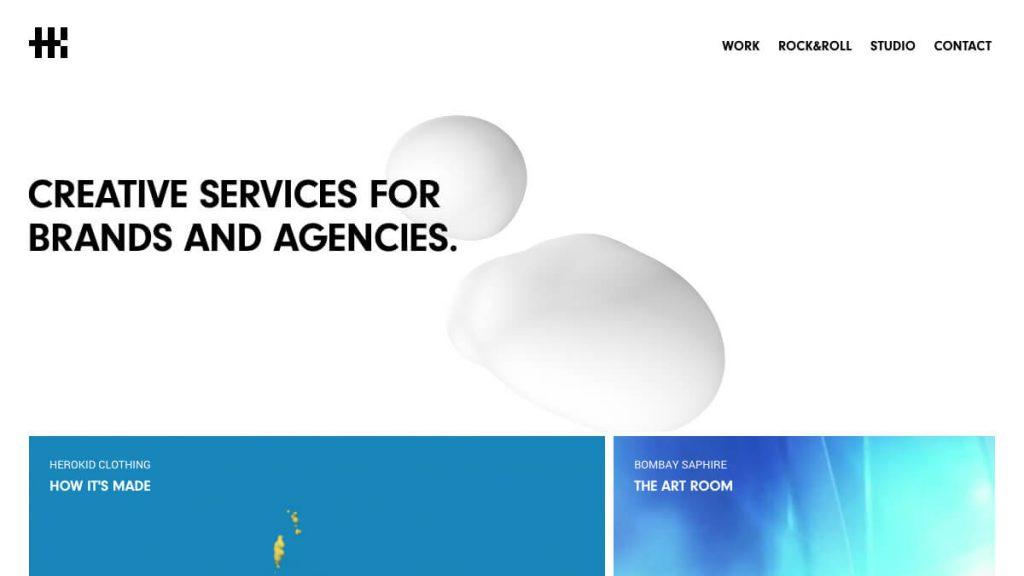Herokid Studio – Creative services for brands and agencies.