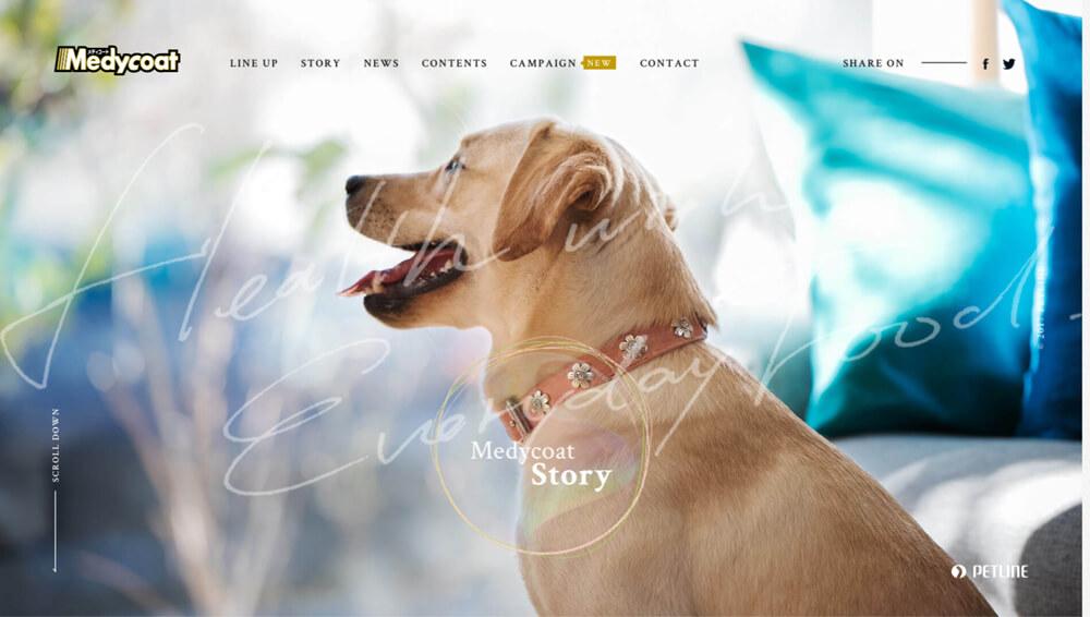 メディコート(Medycoat) 愛犬の健康維持に 国産ドッグフード ペットライン
