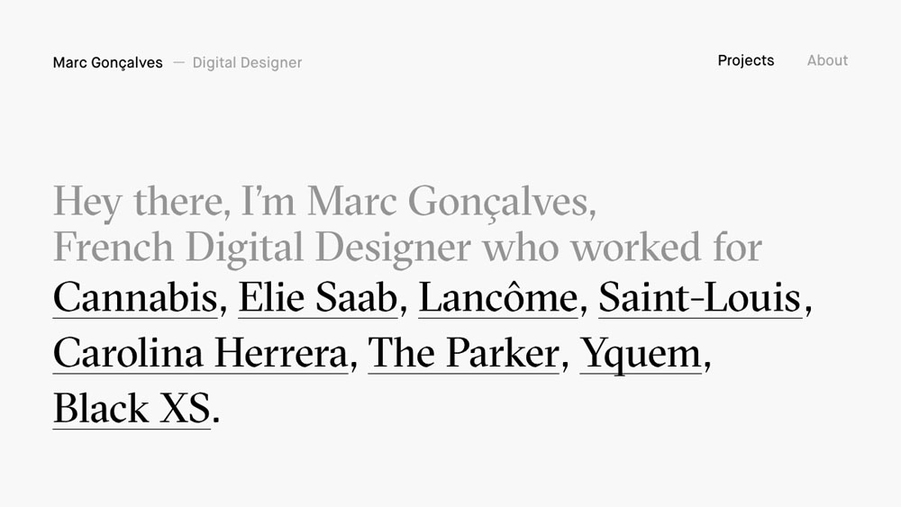 Marc Gonçalves — Digital Designer