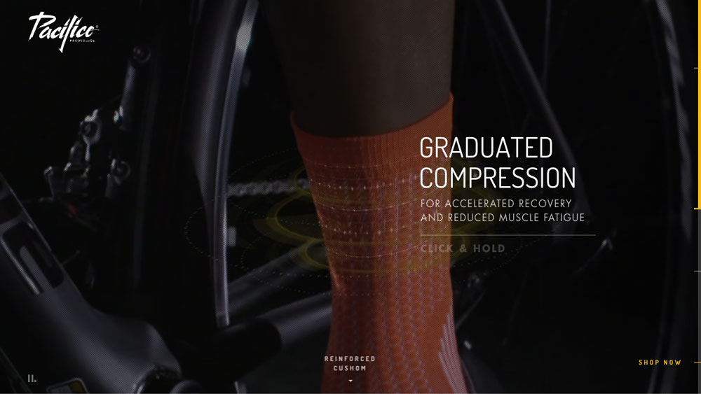 Fashion & Sport Socks by Pacific and Co · Made in Barcelona