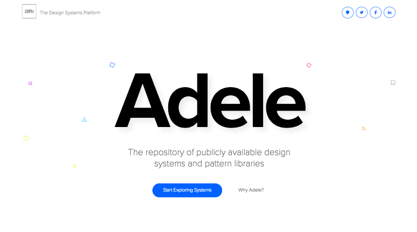 「Adele」デザインガイドラインのプラットフォーム-『Design』