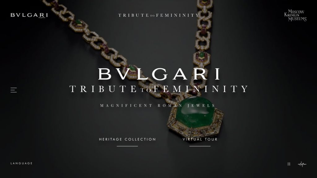 Bulgari Tribute To Femininity