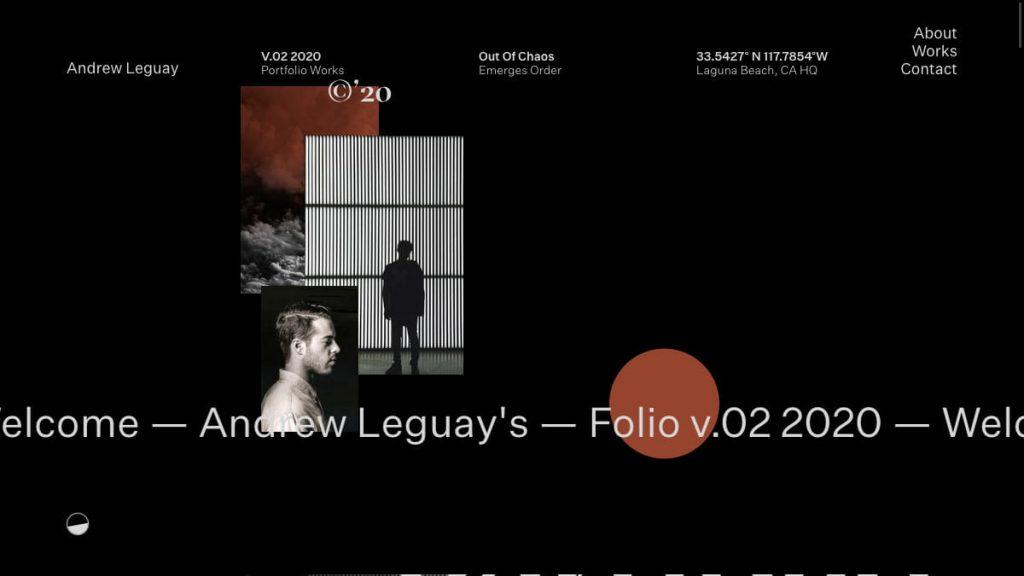 Andrew Leguay Folio 2020